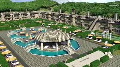 Проект гостиничного комплекса Кастл