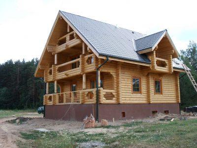 Деревянный дом Слабода