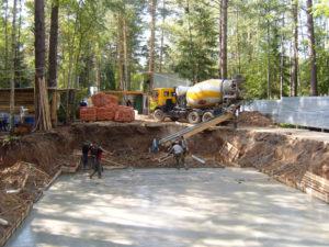 Основные этапы при строительстве фундамента дома
